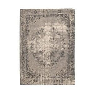 Hnedý koberec s prímesou bavlny Cotex Sidari, 140 × 200 cm