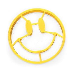 Žltá raňajková forma Fred & Friends Crack A Smile