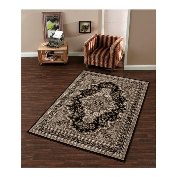 Koberec Hanse Home Prime Pile Ornamental Brown, 60 x 110 cm