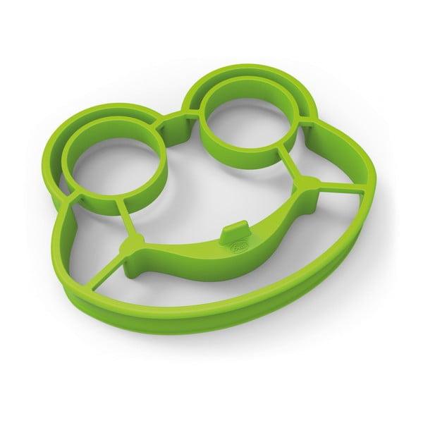 Zelená žabia forma na vajíčka Fred & Friends Funny Side Up