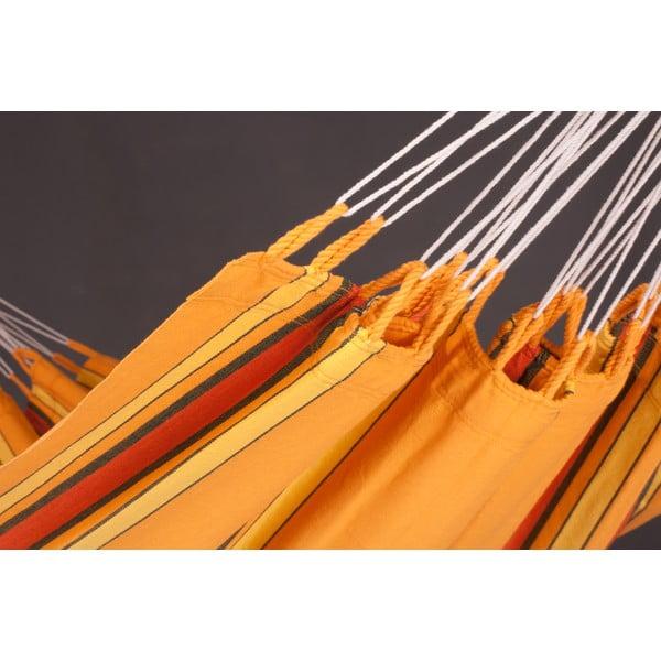 Hojdacia sieť Currambera pre jedného, oranžová