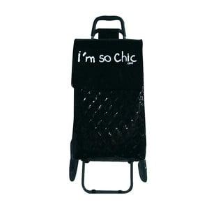 Nákupná taška na kolečkách I Feel Good