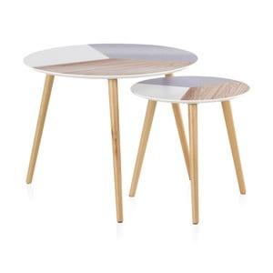 Sada 2 konferenčných stolíkov Geese Nordic Style Puro, ⌀ 60 cm