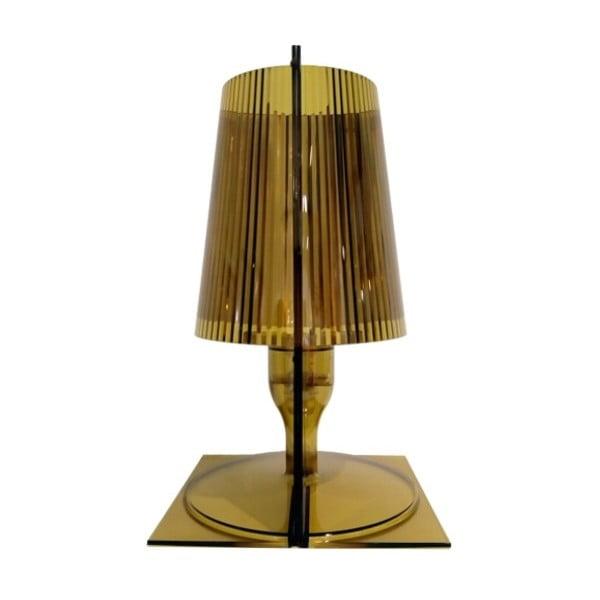 Olivovozelená stolová lampa Kartell Take