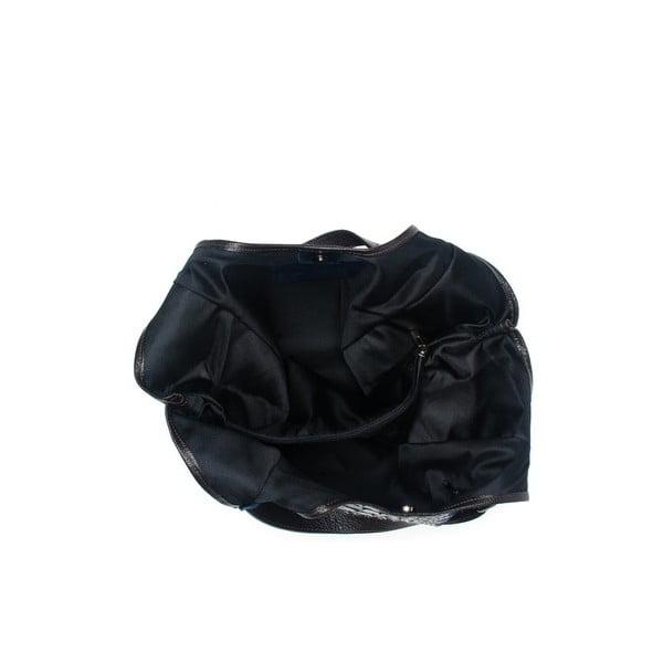 Kožená kabelka Carla Ferreri 838 Blu
