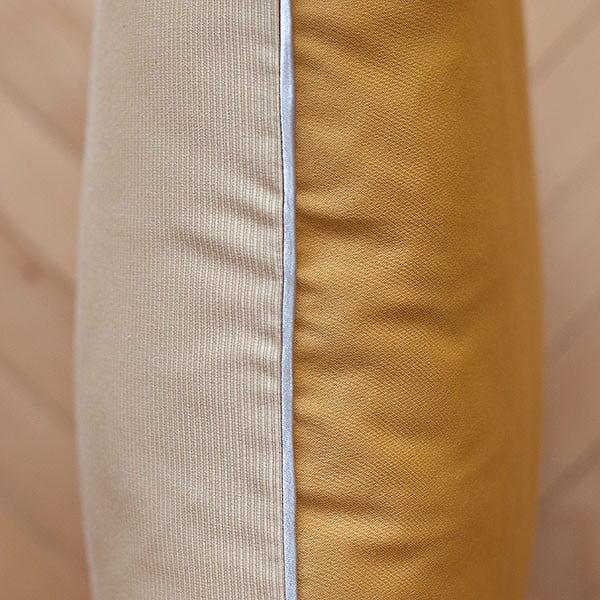 Vankúš s výplňou Beige Gold, 50x50 cm