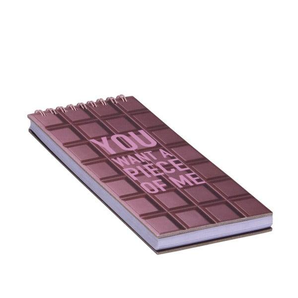 Špirálový bloček Tri-Coastal Junk Chocolate
