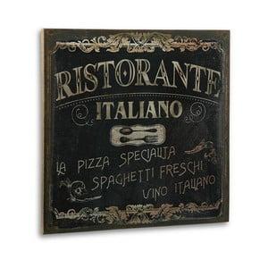 Drevený obraz Ristorante Italiano