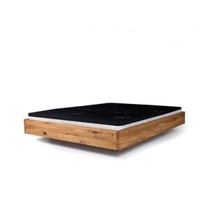 Posteľ z olejovaného jelšového dreva Mazzivo Pool, 200×220 cm