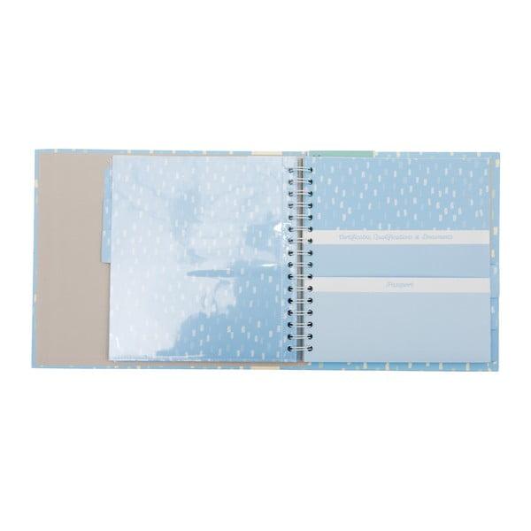 Modré dosky na dokumenty Busy B Family File