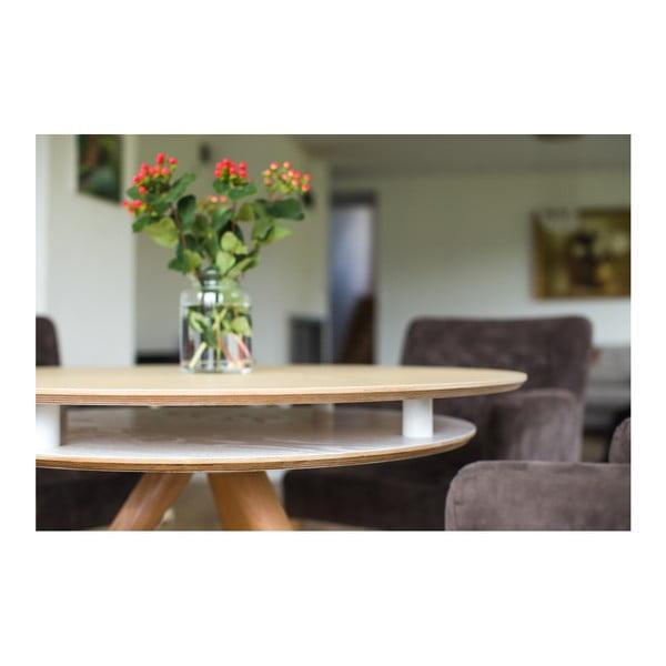 Modrý jedálenský stôl Ragaba Triad