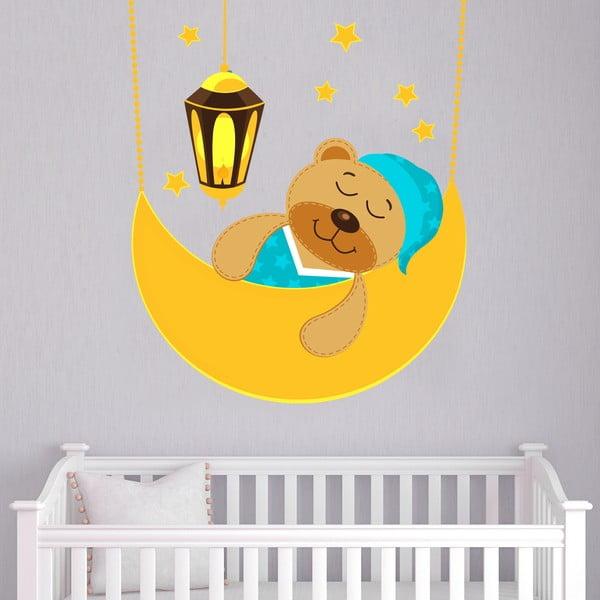 Samolepka na stenu Sleeping bear