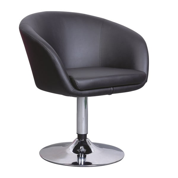 Kreslo/barová stolička A322, čierna