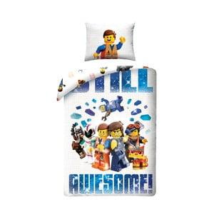 Detské bavlnené obliečky Halantex Lego Movie, 140 x 200 cm