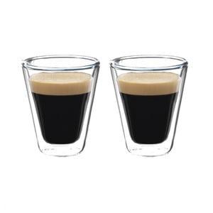 Sada 2 dvojstenných pohárov Bredemeijer Caffeino