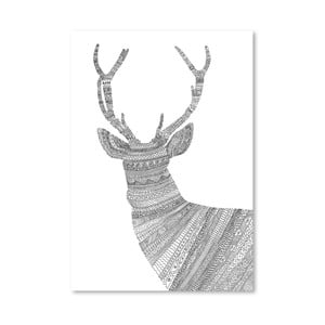 Plagát Stag 1 od Florenta Bodart, 30x42 cm
