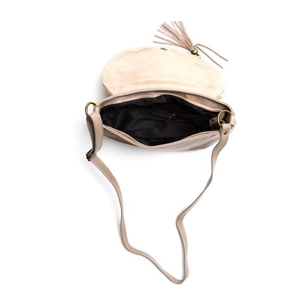 Kožená kabelka Isabella Rhea 2053, kameň