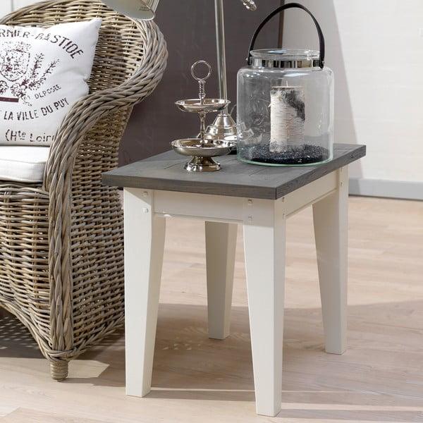 Biely nočný stolík Canett Skagen Side