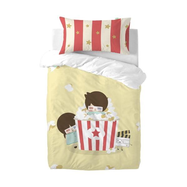 Obliečky z čistej bavlny Happynois Pop corn, 115 x 145 cm