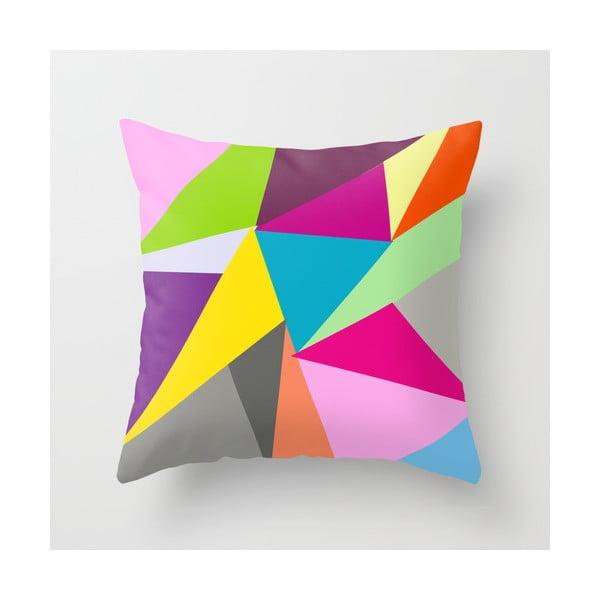 Obliečka na vankúš Triangle V, 45x45 cm