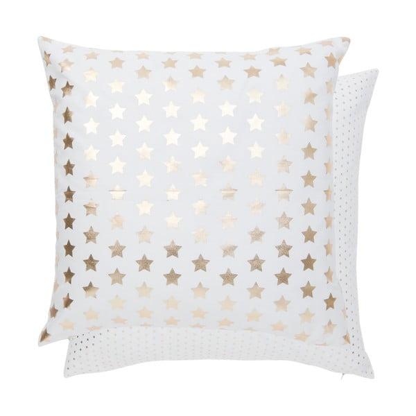 Obliečka na vankúš Gold Stars, 50x50 cm