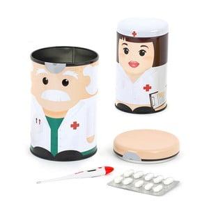 Nádobky na lieky Dr & Nurse, 2 ks