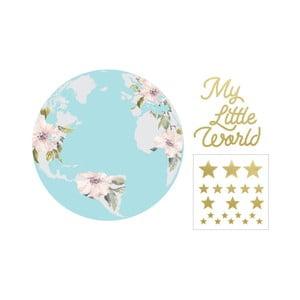 Nástenná samolepka Dekornik My Little World Pastel, ø 115 cm