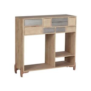 Konzolový stolík z masívneho mangového dreva Woodjam Pasadena, šírka 98 cm
