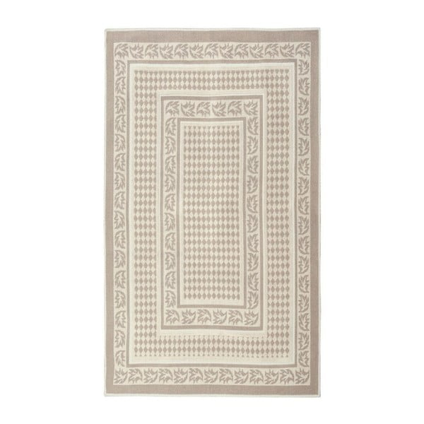 Krémový bavlnený koberec Floorist Regi, 120x180cm