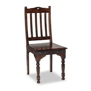 Stolička z masívneho palisandrového dreva SOB Alex
