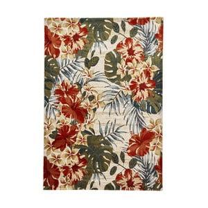 Koberec Think Rugs Tropics Cream & Multi, 120×170 cm