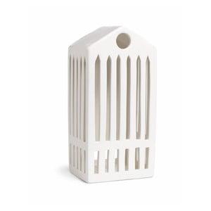 Biely keramický svietnik Kähler Design Urbania Lighthouse Pantheon