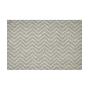 Vinylový koberec Tejido Chevron Gris,133x200 cm