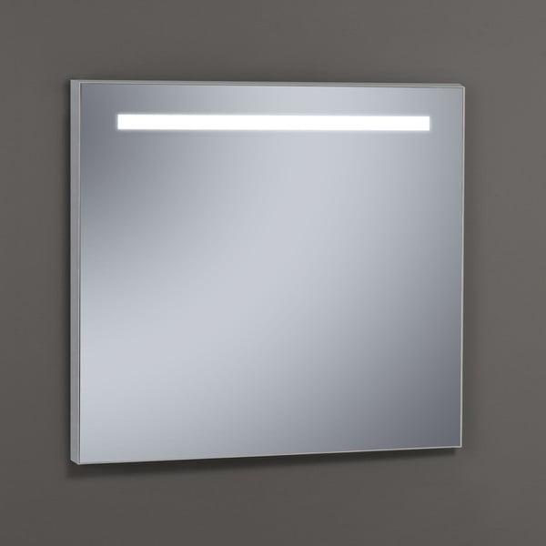 Zrkadlo s LED osvetlením Miroir, 80x80 cm