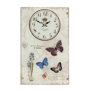 Nástenné hodiny Paris, 25x40 cm