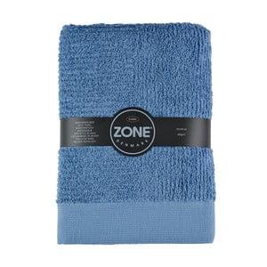 Modrá osuška Zone Classic, 70x140cm