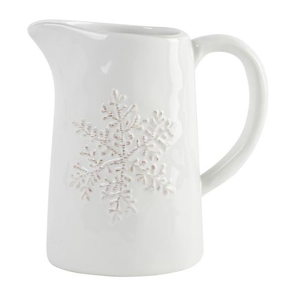 Džbán Athezza Snowflake, 19 cm