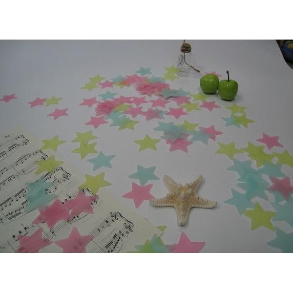 Sada 100 svietiacich hviezd Ambiance Stars