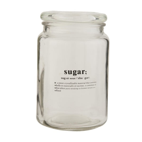 Sklenená dóza Clayre & Eef Sugar