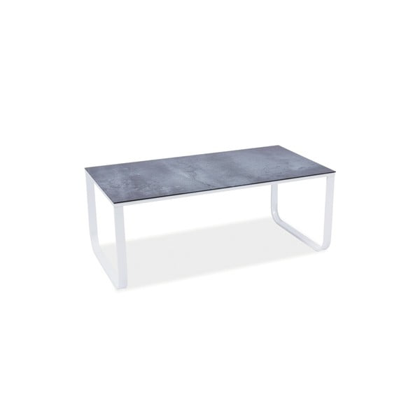 Konferenčný stolík Taxi White Stone, 105x55 cm