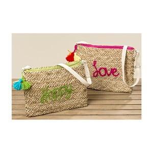 Sada 2 listových kabeliek z morskej trávy Boltze Juanita