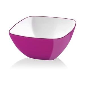 Ružová šalátová misa Vialli Design, 14 cm