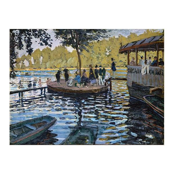 Obraz Claude Monet - La Grenouillère, 60x45 cm