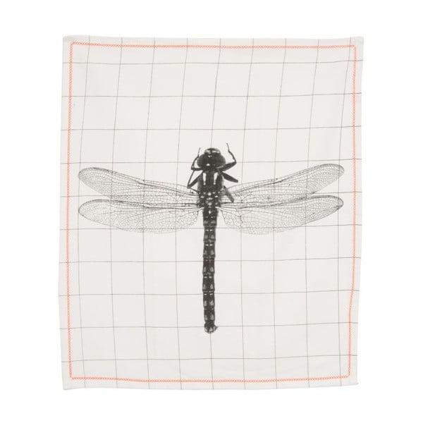 Kuchynská utierka Grid Dragonfly, 55x65 cm