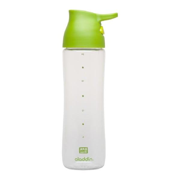 Fľaša do jednej ruky Alladin 700 ml, zelená