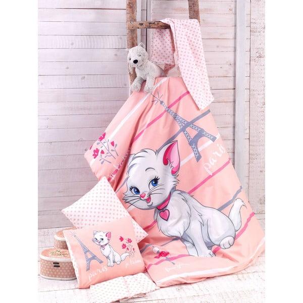 Detské obliečky Lovely Cat, 100x150 cm