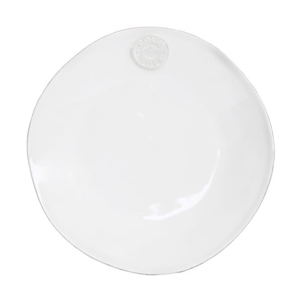 Biely keramický dezertný tanier Ego Dekor Nova, Ø21cm