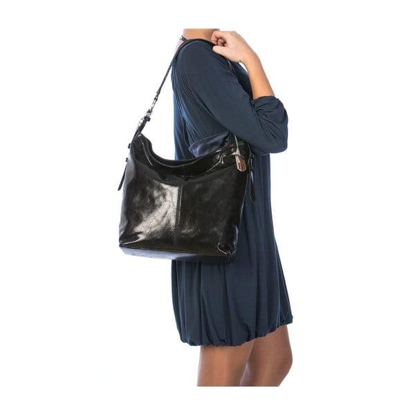 Kožená kabelka Hobo Black