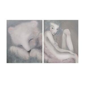 Autorský plagát od Lény Brauner Sen o medvěďovi, 39x60 cm