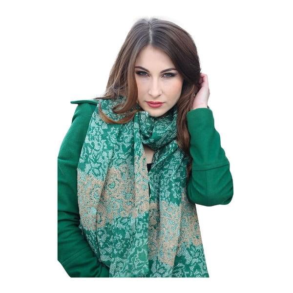 Vlnená šatka Shirin Sehan Amelia Grass